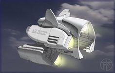Spaceship [8] by Grafgog.deviantart.com on @deviantART