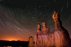 Goblin Valley at night. Southern Utah.