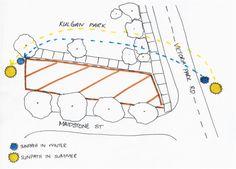 sun path analysis - بحث Google Sun Path Diagram, Site Analysis, Map, Tiny House, Google, Location Map, Tiny Houses, Maps