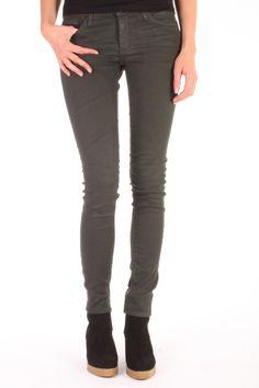 Adriano Goldschmied The Legging Skinny Jeans kleur Donkergroen TAR GRN Adriano Goldschmied, Super Skinny Jeans, Pants, Tops, Fashion, Lush, Trouser Pants, Moda, Fashion Styles