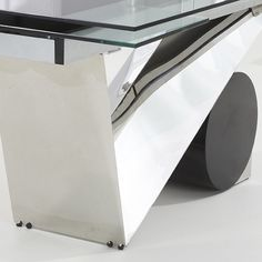 Naomi Extendable Glass Dining Table In Black And Extendable Glass Dining Table, White Dining Table, Table And Chairs, Kitchen Furniture, Furniture Design, Rectangle Shape, Storage, Wood, Modern