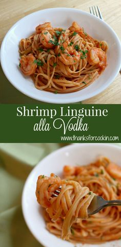 Shrimp Linguine alla Vodka
