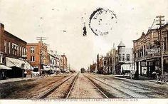 Pittsburg Kansas KS 1908 Town Broadway North from Sixth Antique Vintage Postcard