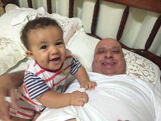 Diário do Felipinho: Tarde com vovô.