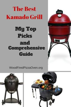 The Best Kamado Grills - Our Top 5 Picks - Wood Fired Pizza Oven Best Kamado Grill, Wood Fired Pizza, Charcoal Grill, Grills, Firewood, Barbecue, The Best, Oven, Cooking