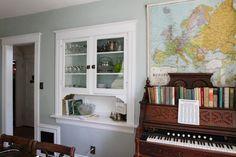 Joe's Victorian 'Owl House': love me a good built-in.