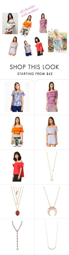 """""""Off Shoulder With Necklace..**"""" by yagna ❤ liked on Polyvore featuring Brooks Brothers, Apiece Apart, Isolda, The Jetset Diaries, Goen.J, ZoÃ« Chicco, Madewell, Jacquie Aiche, Ela Rae and Jennifer Meyer Jewelry"""
