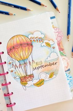 15 September Bullet Journal Spreads That Will Inspire You This Month