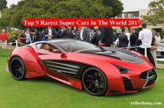 Top 9 Rarest Super Cars In The World