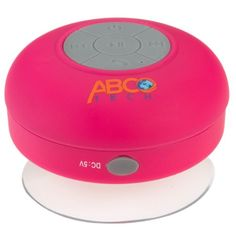 Abco Tech Waterproof Wireless Bluetooth Shower Speaker & Handsfree speakerphone - - Compatible with