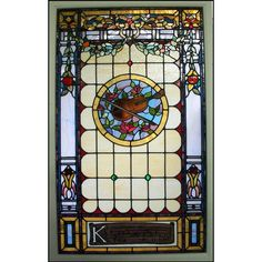 Berryman Violin Stained Glass Window ❤ liked on Polyvore featuring home, home decor, window treatments, curtains, windows, stained glass, window drapery, window coverings, windows stained glass and window curtains