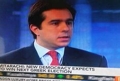"""Live Bloomberg News [21/3/2012]  """"New Democracy expects to win next Greek election"""""""