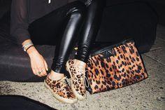 noice leather leggings