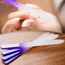 4pcs Nail Files Durable Crystal Glass File Buffer Manicure Device Nail Art Decorations Tool (China (Mainland))