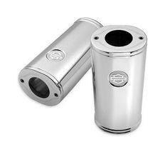 Billet Fork Slider Dust Covers - 46116-03