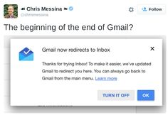 Several high profile tech industry observers wonder if this is the end of the road for Gmail