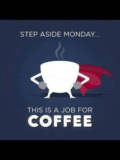 On Mondays #coffee is my hero! Thanks for saving me! lol