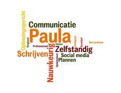 Paula kort en krachtig.