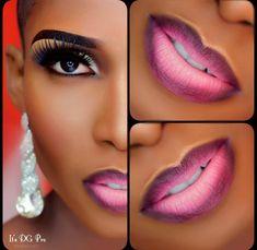 Gorgeous Makeup: Tips and Tricks With Eye Makeup and Eyeshadow – Makeup Design Ideas Dark Skin Makeup, Lip Makeup, Natural Makeup, Makeup Tips, Makeup Eraser, Makeup Eyebrows, Makeup Ideas, Flawless Makeup, Gorgeous Makeup