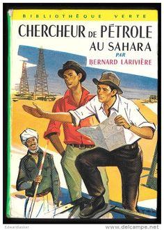 Chercheur de pétrole au Sahara