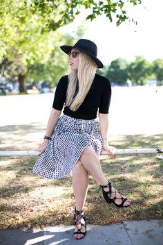 Mediamarmalade Midi Skirt
