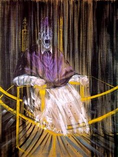 BACON Francis - Irish (Dublin 1909-1992 Madrid) - EXPRESSIONISM - disformed and distorted psychological portraits - hallucinative
