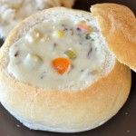 Creamy Chicken and Wild Rice Soup - Mel's Kitchen Cafe