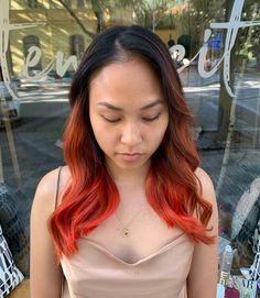 """Karolína Machovič na Instagramu: """"Včera jsem dělala poprvé freehand balayage na asijských vlasech. Jelikož obvykle freehandové zesvětlovače nedokážů zesvětlit vlas výrazně.…"""" Hair, Instagram, Strengthen Hair"""