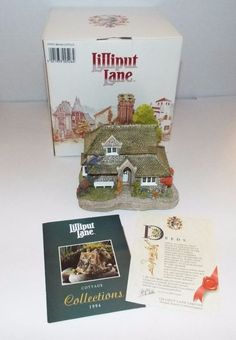 LILLIPUT LANE SWEET BRIAR COTTAGE - BLAISE HAMLET COLLECTION Original Box w/Deed