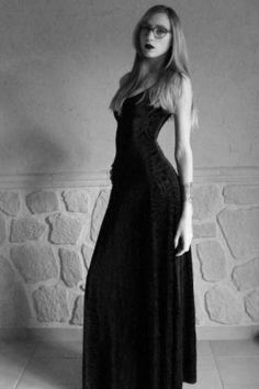 10512f588c Revenge of the Burned Velvet Maxi