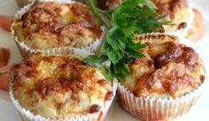 Cuketové muffiny so syrom