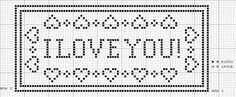 Name Lace Filet Crochet Pattern - there's also a chart with the entire alphabet so you can change up your block
