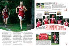 example sport magazine design - Google Search