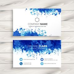 [Business Card] This would be an interesting idea to work with if I was to apply my own colour scheme to the design.