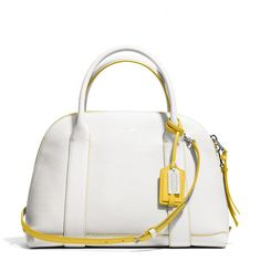 The Bleecker Preston Satchel In Edgepaint Leather from Coach