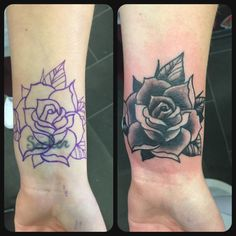 Black Rose Tattoo Tattoos Pinterest Tattoos Wrist Tattoos And
