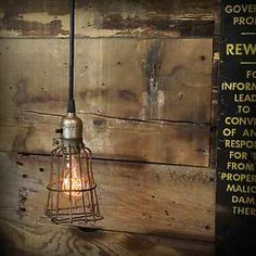 light cages | ... -Industrial-Antique-Trouble-Pendant-Lamp-Steam-Punk-Light-Wire-Cage