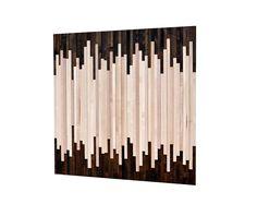 Wood Wall Art - Reclaimed Wood Art Sculpture - Modern Artwork - Minimalistic Design