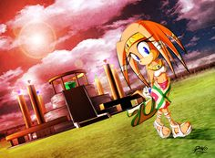 tikal the Echidna | Tikal the Echidna by R-no71 on deviantART