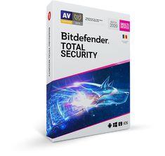 Bitdefender Total Security 2020 - 2 ans - 10 postes - Logiciel antivirus et optimisation Contrôle Parental, Parental Control, Cyber Technology, Business Technology, Microsoft Windows, Windows 10, Mobile App, Configuration Pc, Android