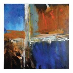 Patrick St. Germain 'Golden Lights' Hand Painted Canvas | Overstock.com Shopping - Top Rated Prints