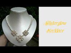Winterglow Necklace Beading Tutorial by HoneyBeads