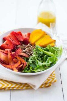 A rainbow in a bowl, this citrus quinoa dish incorporates plenty of fresh produce. Prepare to make y... - Little Ferraro Kitchen