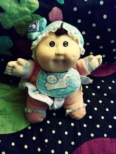 Hey, I found this really awesome Etsy listing at https://www.etsy.com/listing/521209381/vintage-cabbage-patch-babyland-doll-by