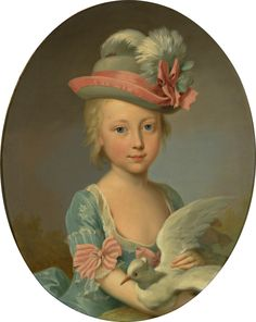 The Athenaeum - Portrait of a Young Girl (Johann Heinrich Tischbein the Elder - )