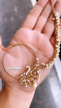 Fancy Jewellery, Indian Jewellery Design, Indian Jewelry, Jewelry Design Earrings, Diy Jewelry, Fashion Jewelry, Jewelry Making, Bridal Bangles, Bridal Jewelry