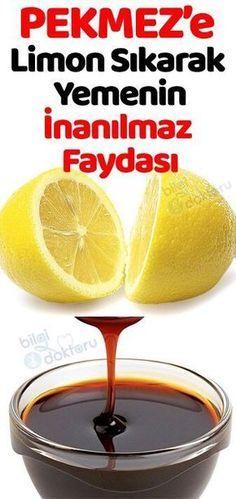 PEKMEZ'i HEP YANLIŞ YEMİŞİZ. Limon Sıkarak Yemeliyiz. Çünkü..