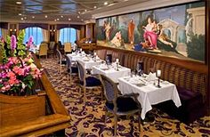 Discoveries Dining Room has open seating #AzamaraQuest