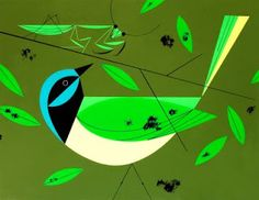 Mrs. Knight's Smartest Artists: 100th post: Charley Harper bird collage
