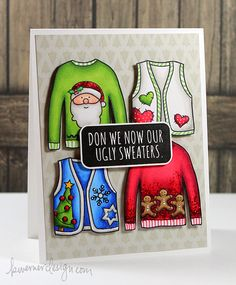 Simon Says Stamps - Cold Hands, Warm Heart New Release & Blog Hop by Kristina Werner